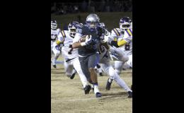 Isaiah Hill scored a late touchdown to help his team over the hump last Friday night.