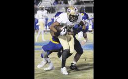 Dorian Lindsey and the Yellow Jackets improved to 5-0 last Friday night against Travelers Rest.