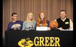 Tori Henderson will play for Converse College next season, after signing an athletic scholarship last week.