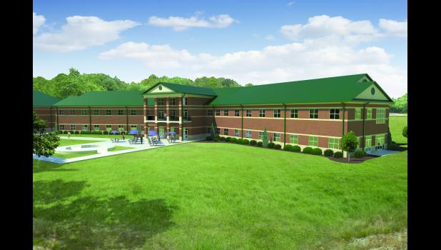 Greer Middle College hopes to soon build a two-story, 46,000-square-foot building behind Greenville Tech.