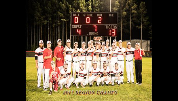 The Blue Ridge baseball team won its second-straight region baseball title last week, topping Greer 13-4. The Tigers move into postseason play, where they are a No. 1 seed in their district.