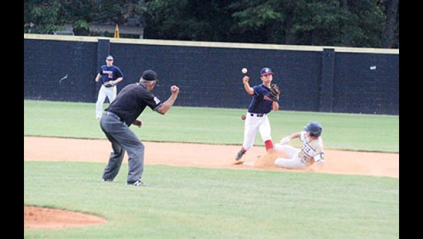 The Greer Warhawks improved to 2-0 on the season with an 18-5 win over Easley last Thursday at Stevens Field.