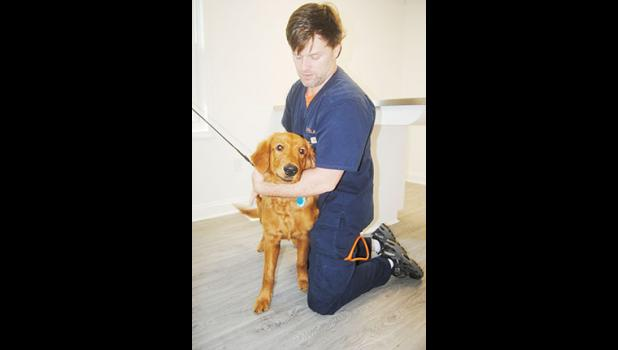 Dr. Tony Holtzclaw, a Greer native and veterinarian, recently opened his new practice.