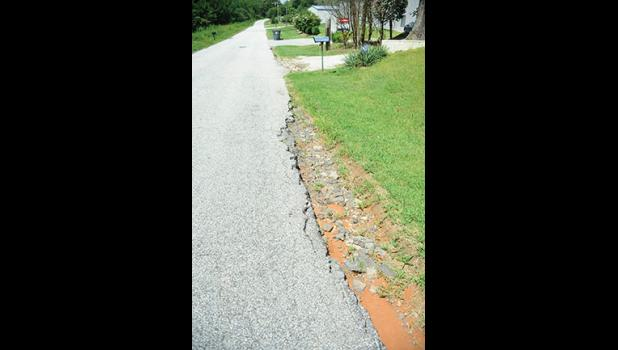 Brookshire Road in Greer will soon see repairs as conditions continue to worsen.