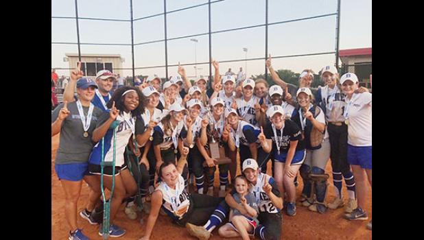 The Byrnes softball team won its second championship in three years last Friday, topping White Knoll 7-4.
