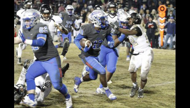 Jaylan Foster caught one touchdown pass during Byrnes' 34-26 win over rival Gaffney.