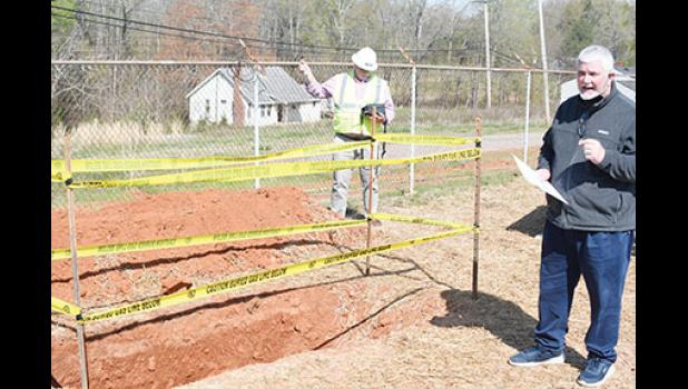 Rob Rhodes, Greer CPW Natural Gas Manager, warns about the dangers of not calling in locates before digging due to underground infrastructure.