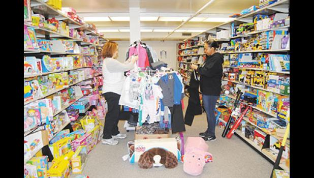 Greer Relief's Christmas Morning Shoppe will open next week at the Greer Mill.