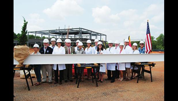 Prisma Health officials celebrated the start of new construction at Greer Memorial Hospital Monday morning.
