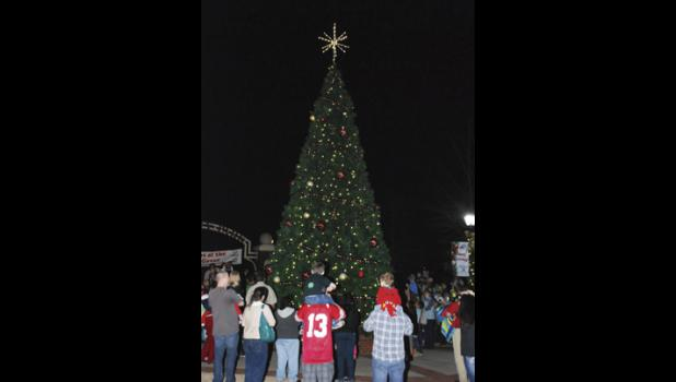 The Christmas Tree Lighting Ceremony will be Friday, Dec. 5 from 5-8 p.m. at Greer City Park.