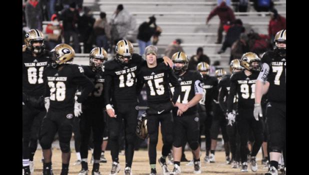 It was a tough night for the Yellow Jackets, who picked up their first loss of the season against Belton-Honea Path in the second round of the Class AAA state playoffs.