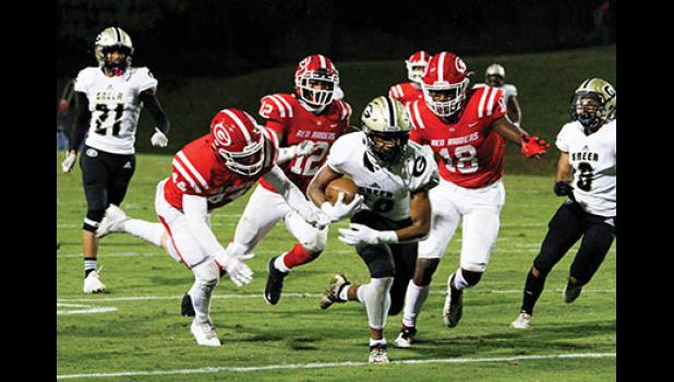 The Yellow Jackets were mashed by Greenville High, 34-17, in the opener at Sirrine Stadium. Greer will travel to Belton-Honea Path to take on the Bears this Friday.