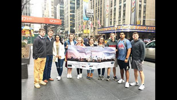 The Greer High School Virtual Enterprise team took home a top 28  finish in the Business Plan Competition during its recent trip to nationals in New York City. The team won first place in the South Carolina Business Plan competition.