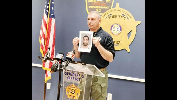Spartanburg County Sheriff Chuck Wright gave details about an officer involved shooting that occurred in Greer Monday morning.