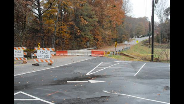 Construction could soon begin on a washed out section of Memorial Drive Extension in Greer, which has been closed since August.