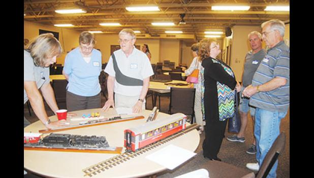 Bob Rayle, a native of Taylors, is working to bring the Model Trains Station to Taylors Mill. He hopes to be ready to open by Thanksgiving.