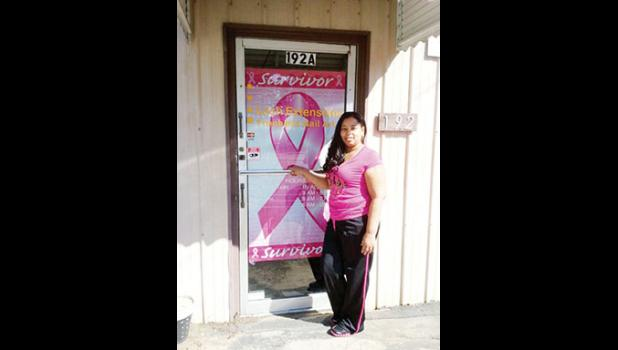 Tina Evans-Martin is giving back to the Cancer Society that helped her, hosting a fundraiser for local customers.