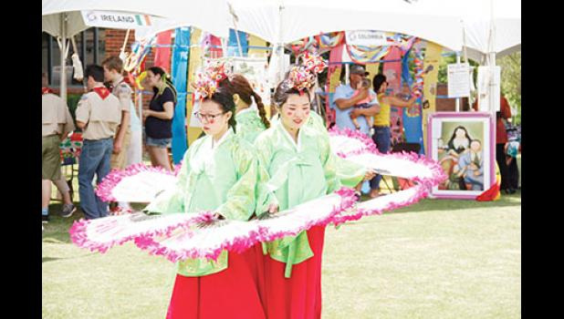 Twenty-two countries showcased dances, cultural practices and food during Greer's fourth International Festival last Saturday in City Park.