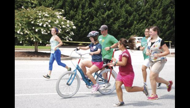 Last week, 40 individuals with disabilities took a step toward independence, learning how to ride a bike during the iCan Bike program, presented by Eastside YMCA. The program took place at Taylors First Baptist Church.
