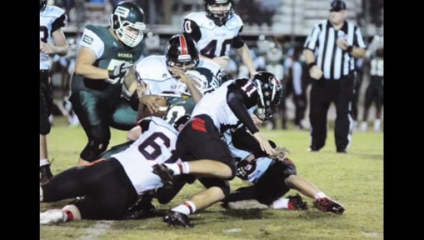 The Blue Ridge defense stepped up in overtime, helping the Tigers knock off Berea for the team's first region win.