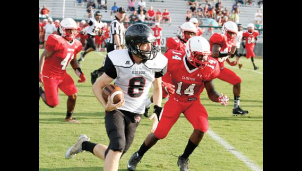 Blue Ridge scrimmaged Clinton recently, but will kickoff the regular season this Friday at Belton-Honea Path.