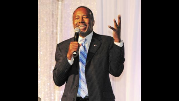Dr. Benjamin Carson, a potential candidate for president, gave the keynote address at the Taylors Free Medical Clinic banquet last Thursday.