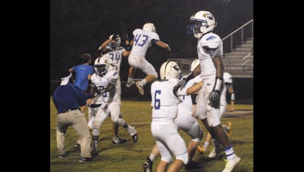 The Eagles tasted victory for the first time this season last Friday night at Wade Hampton. Eastside will take on Blue Ridge this week.