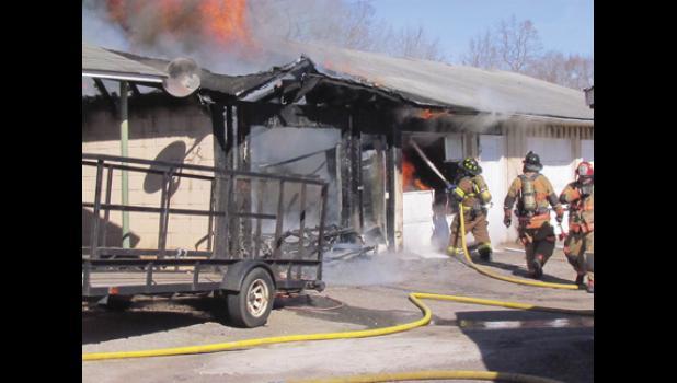 A recent fire at Tab's Flea Market, located at 13450 E. Wade Hampton Blvd., Greer, is still under investigation.