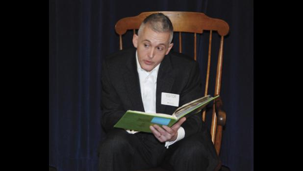 Congressman Trey Gowdy joins in the fun during the 'Real Men Read' event at Chandler Creek.