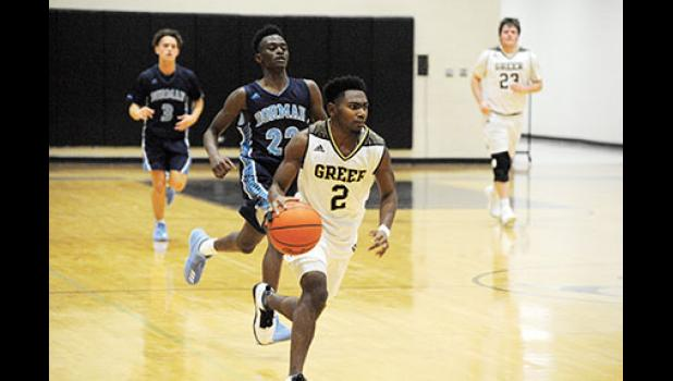 The Greer basketball fell to Dorman last week in non-region play.