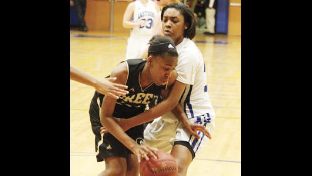 Greer's Diamon Shiflet could not put her team over the top against Eastside last Friday night.
