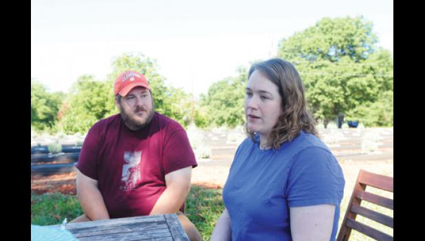 Tim and Mary Bergstrom discuss the future of Southern Hills Lavender.