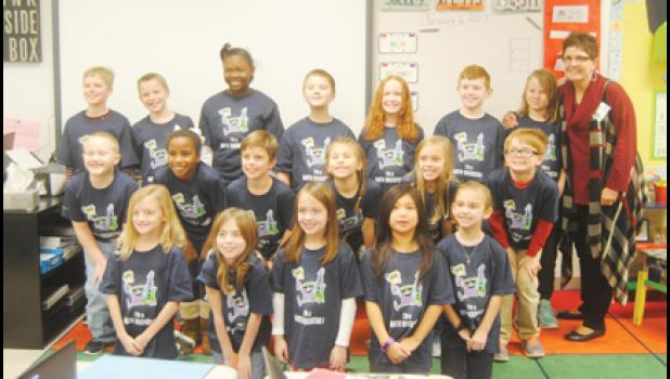 Ann Salway, third grade teacher at Abner Creek Academy, led her class for the second year in a row to win the annual, three-week DreamBox Math Challenge.