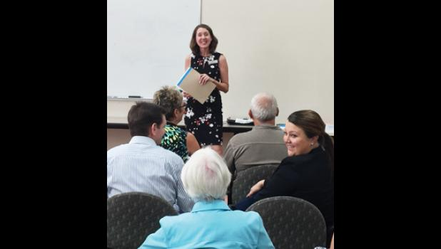 Middle Tyger Community Center held an informational meeting for seniors interested in new programming Tuesday evening.