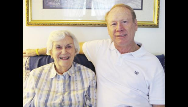After 60 years, Flavius Hall Jr. reunited with his first grade teacher Marion Coster, who resides in Greer.