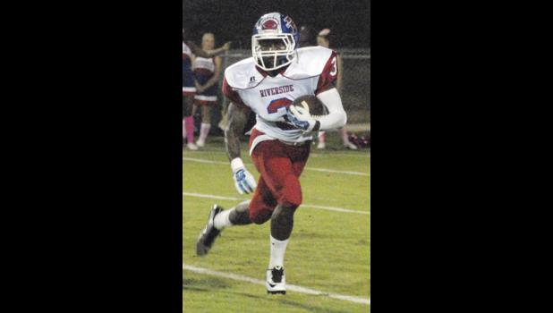 Emanuel Jackson had a long touchdown reception in Friday's win over Mauldin.