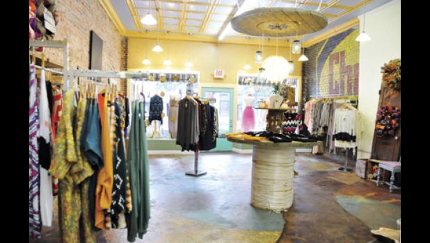 Southern Sisters Boutique recently opened its doors on East Poinsett Street, offering a variety of clothing items.