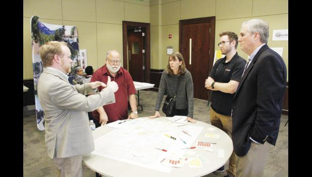 Residents and city officials gathered at City Hall Monday evening to discuss transportation needs in the Greater Greer area.