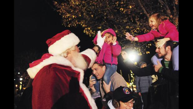 Santa returns to Greer City Park this Friday as the City of Greer gets set to host a wide range of holiday festivities, including the annual Christmas Tree Lighting Ceremony.