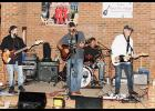 The Tailgate Homeboys entertained the community at Rock the Village on Saturday.
