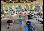 Tiffany Price has 25 years of personal training experience and leads small workout groups at Greer City Park each week.