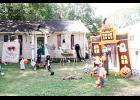 This home on Snow Street in Greer is decked out for the Halloween holiday.