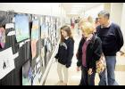 Visitors strolled the halls of Northwood Middle last Thursday during the school's first Fall Art Show.