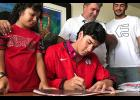 Puerto Rico native Sergio Carrillo has signed a National Letter of Intent to play men's volleyball for North Greenville next season.