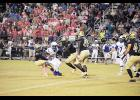The Eagles got all they could handle from the Greer defense last Friday at Dooley Field.
