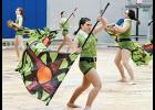 The Byrnes High School Winter Guard hosted a preview show and spaghetti dinner last Friday at Byrnes Freshman Academy.