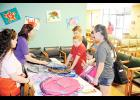 New Horizon Family Health Services hosted a backpack giveaway last Friday for local students heading back to school.