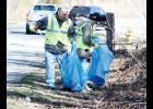 Volunteers with Friends of Lake Robinson picked up 30 bags of trash Saturday