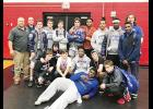 The Byrnes wrestling team won a conference championship over the weekend, claiming the Region III-AAAAA title.