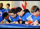 Byrnes hosted a Rising Rebels Signing Day for incoming freshmen last Thursday. The event focused on the importance of academics.